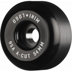 Roues Mini Logo A Cut Black 54MM 2020 pour homme