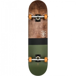 Skate Complet Globe G2 Half Dip 2 Dark Maple Hunter Green 8 2020 pour