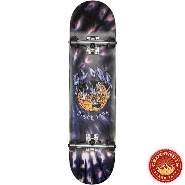 Skate Complet Globe G1 Ablaze Black Dye 8 2020