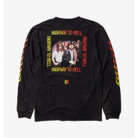 Tee Shirt DC Shoes X AC/DC Highway to Hell LS 2021