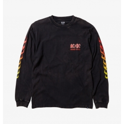 Tee Shirt DC Shoes X AC/DC Highway to Hell LS 2021 pour , pas cher