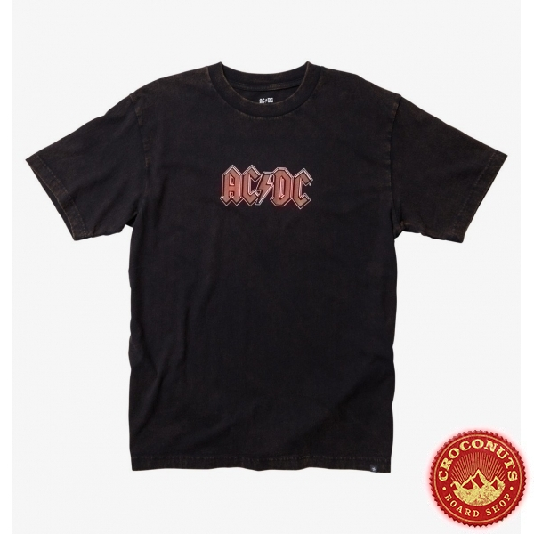 Tee Shirt DC Shoes X AC/DC ACDC To Rock 2021