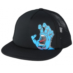 Casquette Santa Cruz Kid Screaming Hand Black 2020 pour junior