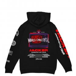 Sweat Jacker World Tour Black 2021 pour