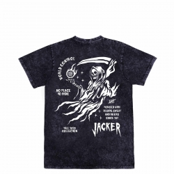 Tee Shirt Jacker No Place Stonewash Grey 2021 pour