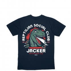 Tee Shirt Jacker Reptilian Navy 2021 pour , pas cher
