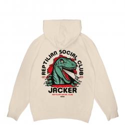 Sweat Jacker Reptilian Beige 2021 pour