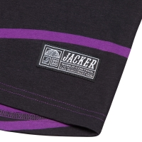 Tee Shirt Jacker Purple Waves Black 2021