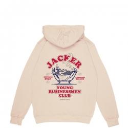 Sweat Jacker Business Club Beige 2020 pour , pas cher