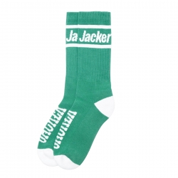 Chaussettes Jacker After Logo Socks Teal 2021 pour