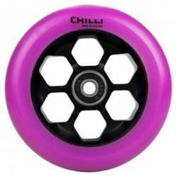 Roue Chilli 110 Violet Noir Honeycomb 110mm 2020 pour homme, pas cher