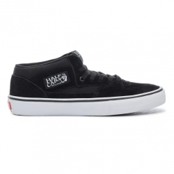 Shoes Vans Half Cab Pro Black Black White 2020 pour