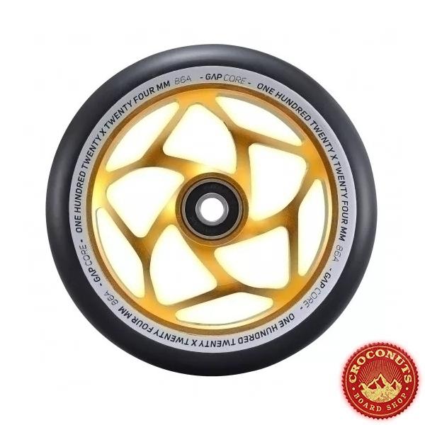 Roue Blunt Gap Core Gold Black 120mm 2021