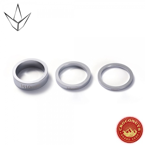 Blunt Spacers Chrome 2020