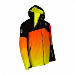 Veste Watts Syken 2.0 Black Deep Orange Yellow 2021 pour homme