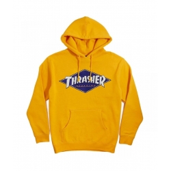 Sweat Thrasher Diamond Logo Gold 2021 pour