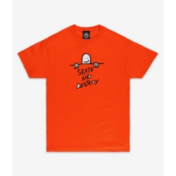 Tee Shirt Thrasher Gonz Sad Logo Orange 2021 pour