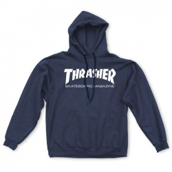 Sweat Thrasher Skate Mag Hood Navy 2021 pour