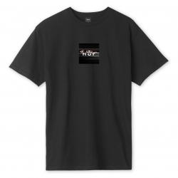 Tee Shirt Huf Voyeur Logo Black 2020 pour
