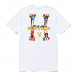 Tee Shirt Huf Playboy Classic White 2020 pour