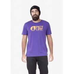 Tee Shirt Picture Basement Dusk Purple 2021 pour homme