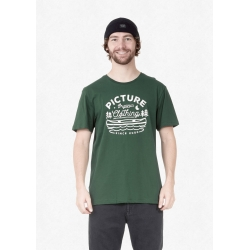 Tee Shirt Picture Colter Forest Green 2021 pour homme