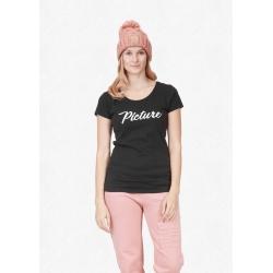 Tee Shirt Picture Fally Black 2021 pour femme, pas cher