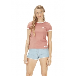 Tee Shirt Picture Heritage Rusty Pink 2021 pour femme, pas cher