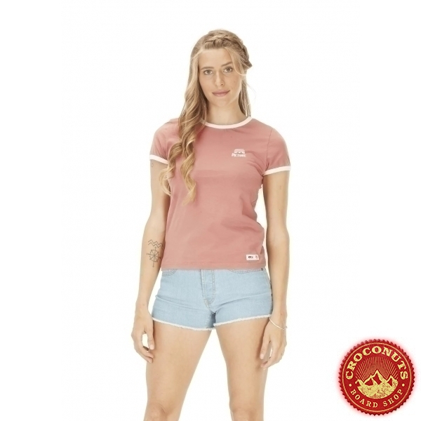 Tee Shirt Picture Heritage Rusty Pink 2021