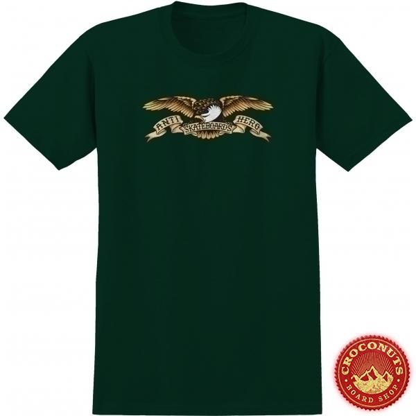 Tee Shirt Anti Hero Eagle Forest Green 2020