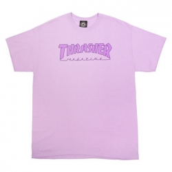 Tee Shirt Thrasher Outlined Orchid 2021 pour