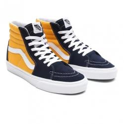 Shoes Vans Sk8-Hi Dress Blue/Saffron 2021 pour