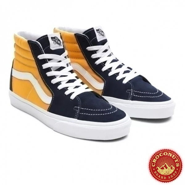 Shoes Vans Sk8-Hi Dress Blue/Saffron 2021