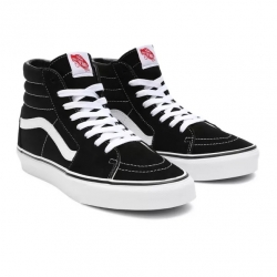Shoes Vans Sk8-Hi Black/Black/White 2021 pour