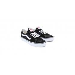 Shoes Vans Sk8-Low Black/True White 2021 pour , pas cher