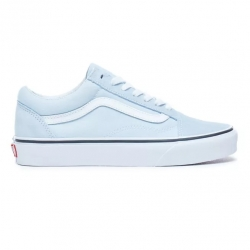 Shoes Vans Old Skool Baby Blue/True White 2021 pour