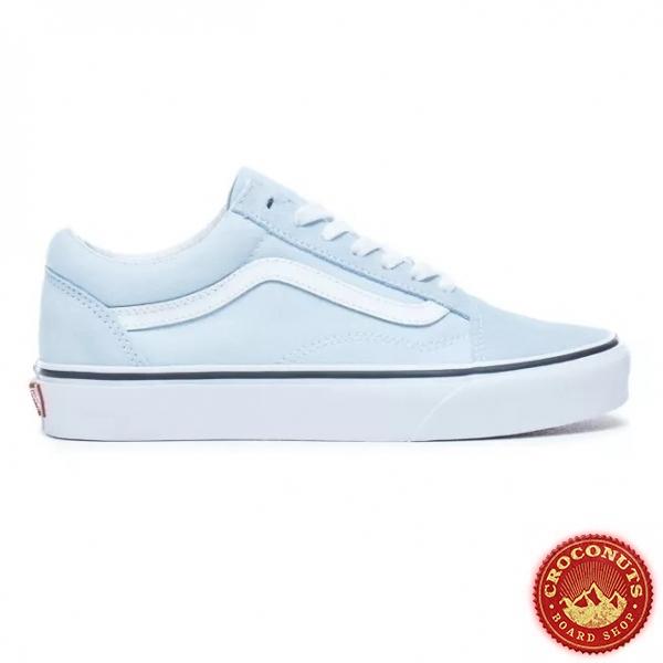 Shoes Vans Old Skool Baby Blue/True White 2021