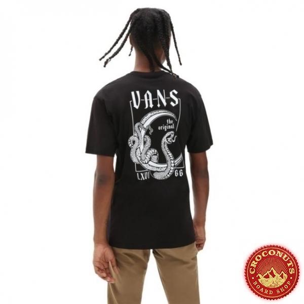 Tee Shirt Vans Crescent Black 2021