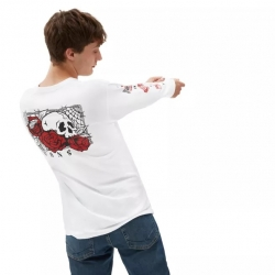 Tee Shirt Vans Rose Bed White 2021 pour homme