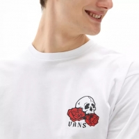 Tee Shirt Vans Rose Bed White 2021