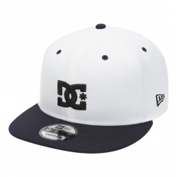 Casquette Dc Shoes Empire Fielder White 2021 pour
