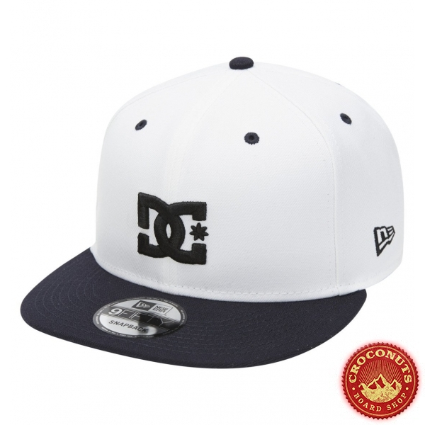 Casquette Dc Shoes Empire Fielder White 2021