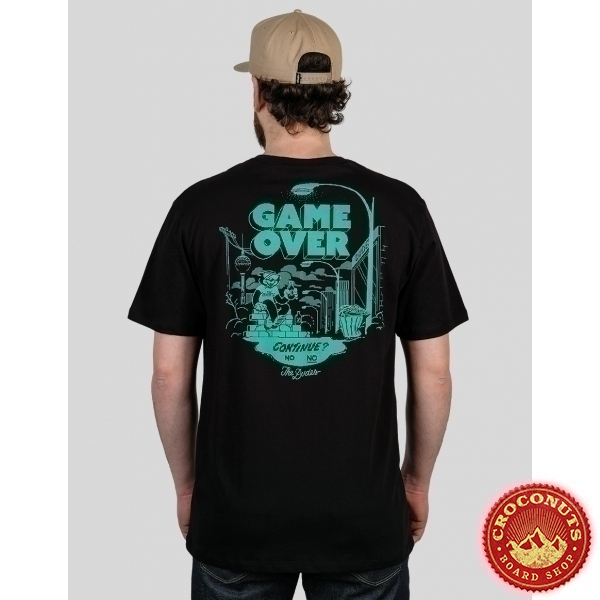 Tee Shirt The Dudes Game Over 2021