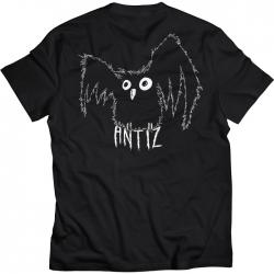 Tee Shirt Antiz Hiboo Black 2021 pour homme