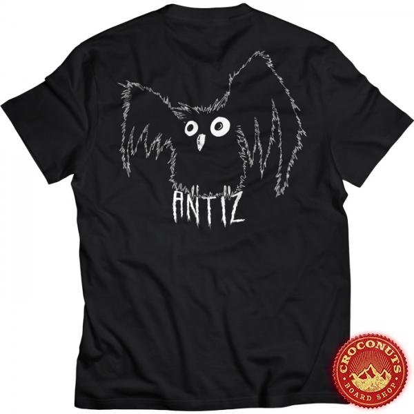 Tee Shirt Antiz Hiboo Black 2021