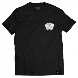 Tee Shirt Antiz Aces Black 2021 pour homme, pas cher