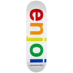 Deck Enjoi Spectrum R7 White 9 2021 pour homme