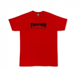 Tee Shirt Thrasher Skate Skate Mag Red 2020 pour junior, pas cher