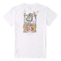 Tee Shirt DC Shoes Day One White 2021