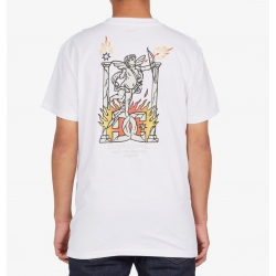 Tee Shirt DC Shoes Day One White 2021 pour homme, pas cher